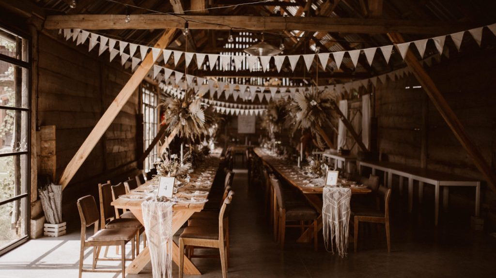 rustykalna sala weselna