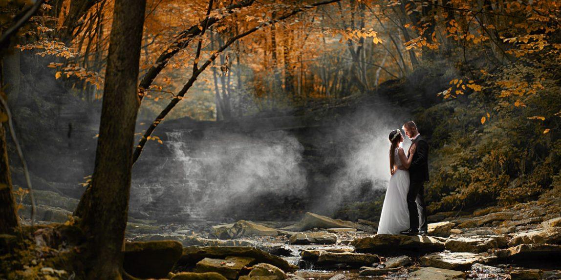 fotografia ślubna wykonana na Podkarpaciu